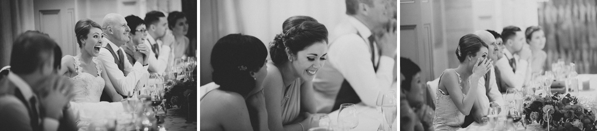 Wedding Speeche Reaction Photographs