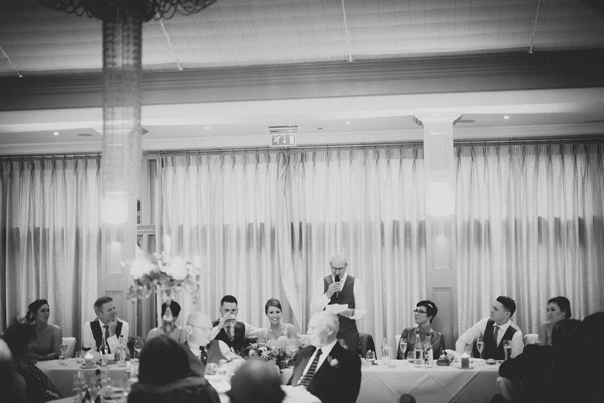 Wedding Speeches Hampton Manor Solihull