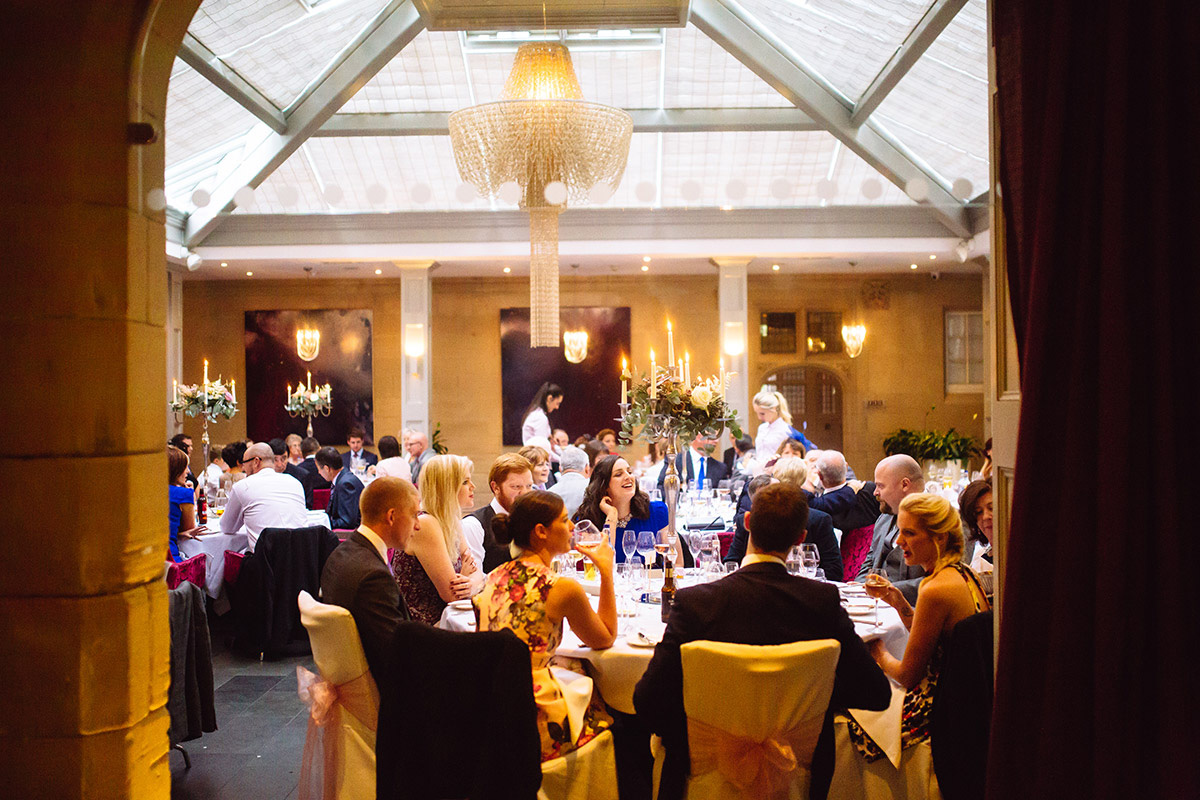 Wedding Reception Hampton Manor Solihull