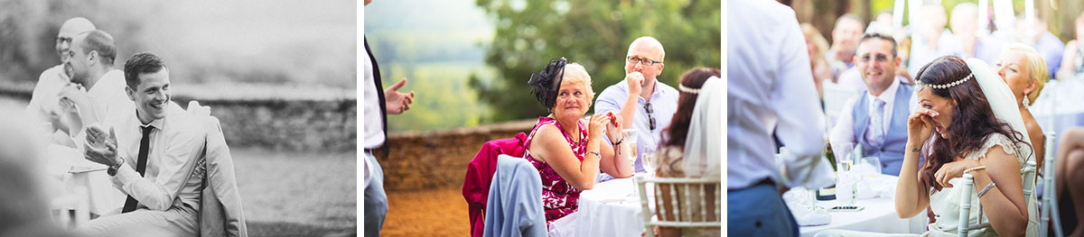 wedding speeches tears and laughter france