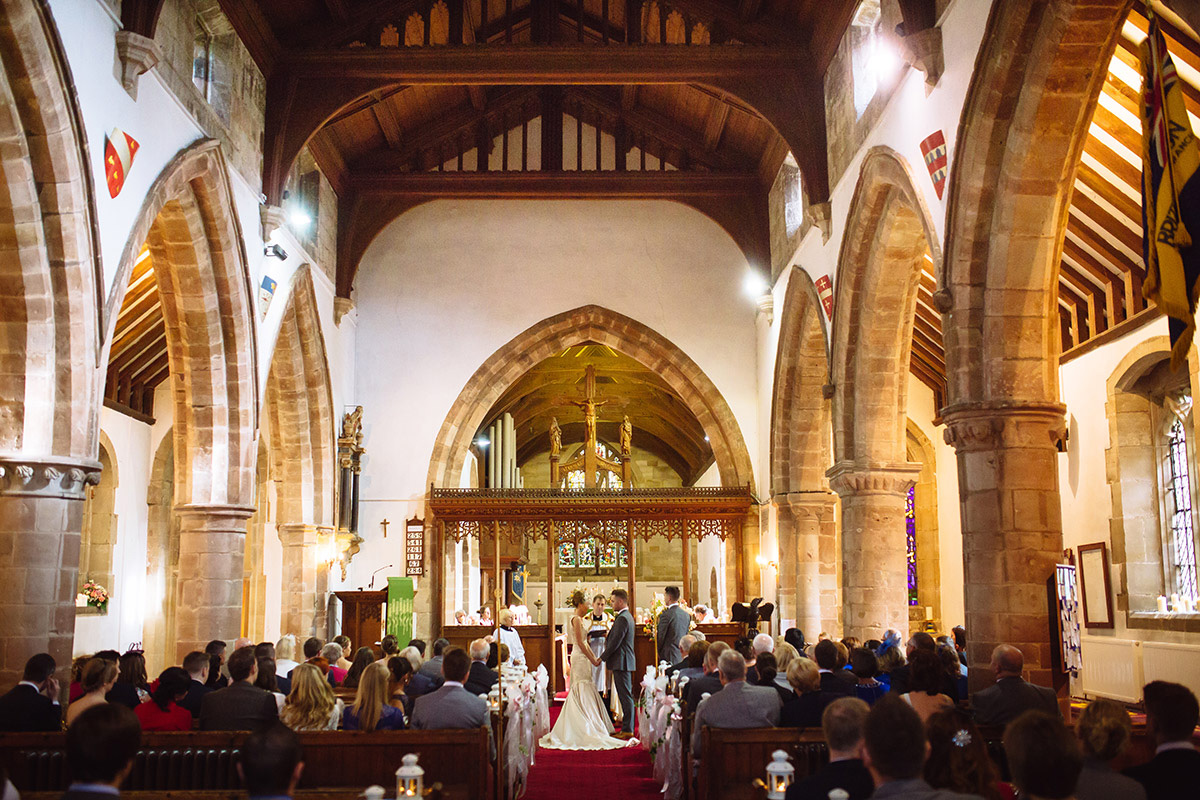 wedding ceremony solihull Bartholomew church