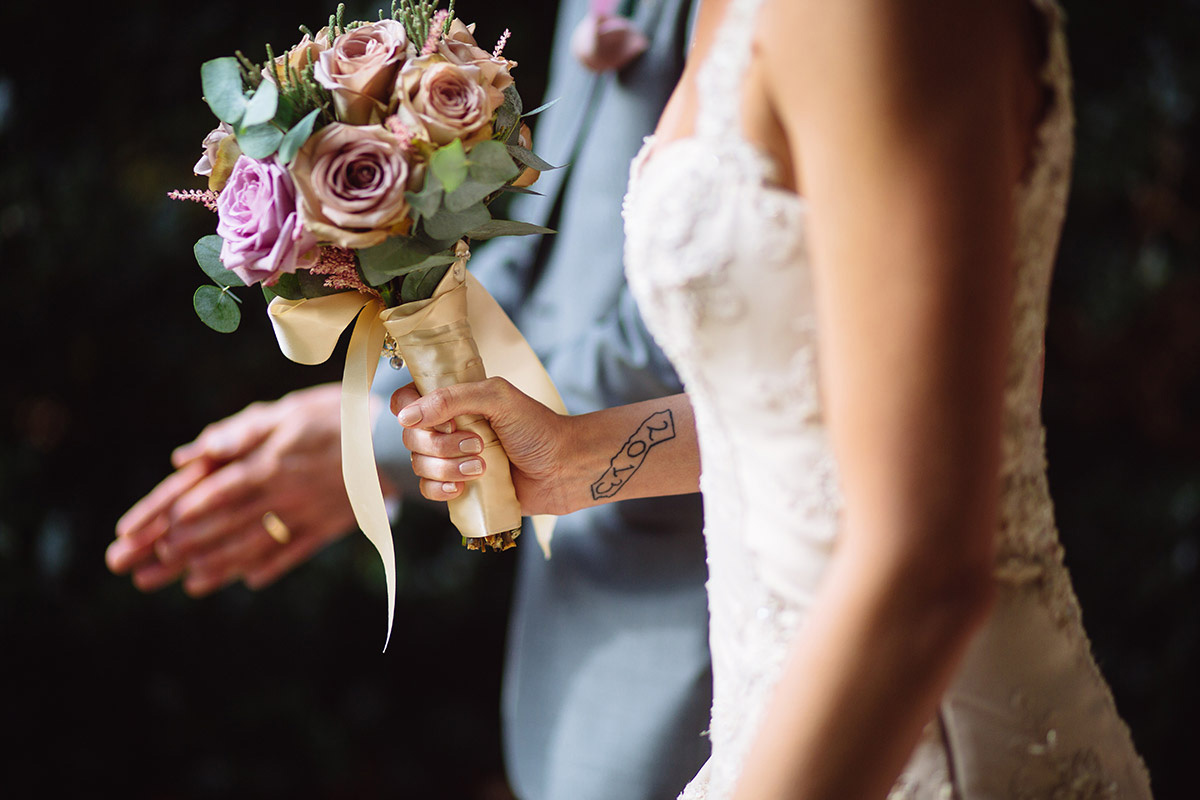 Bridal Bouquet Tattoo Photograph