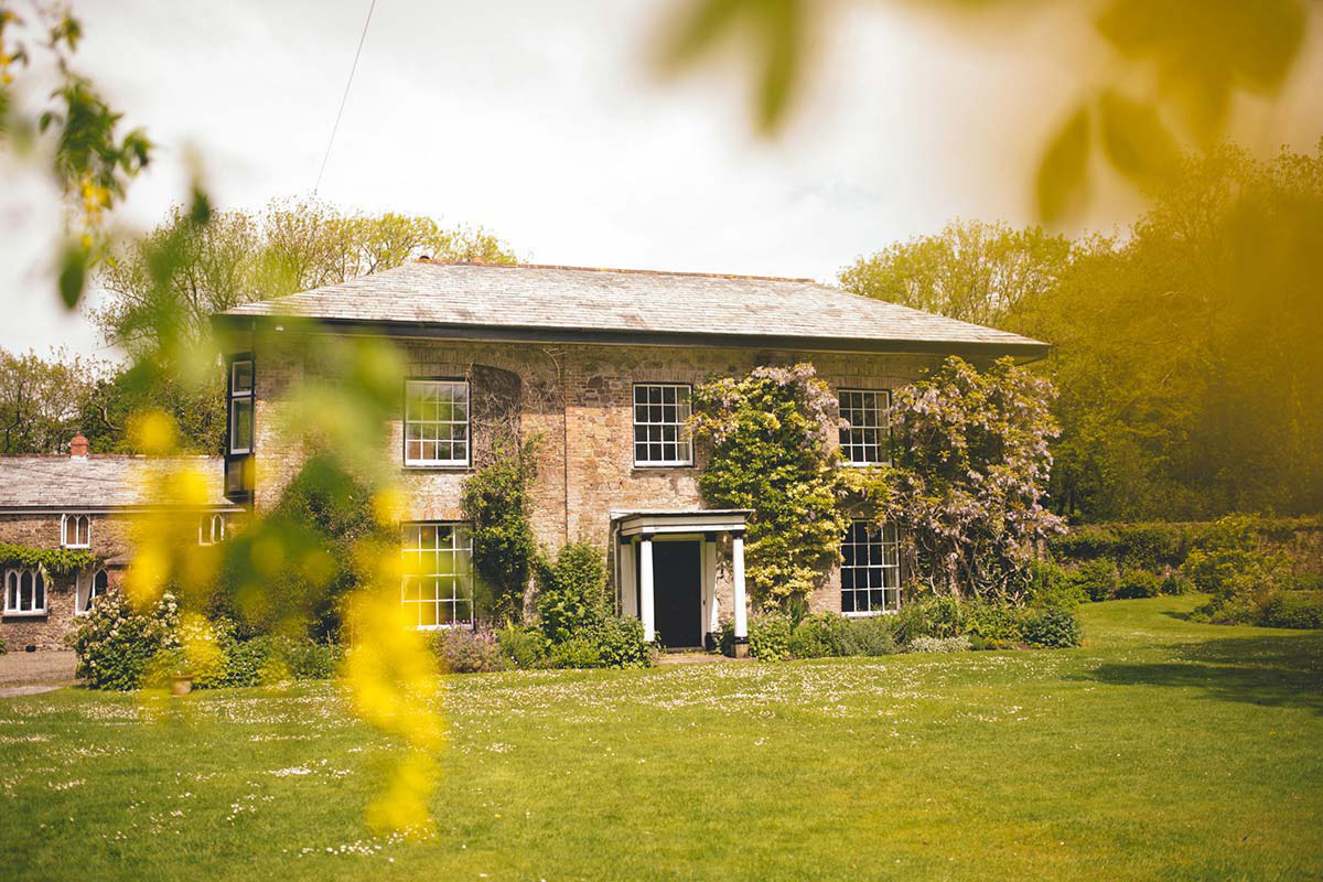 The Old Rectory Pyworthy Wedding