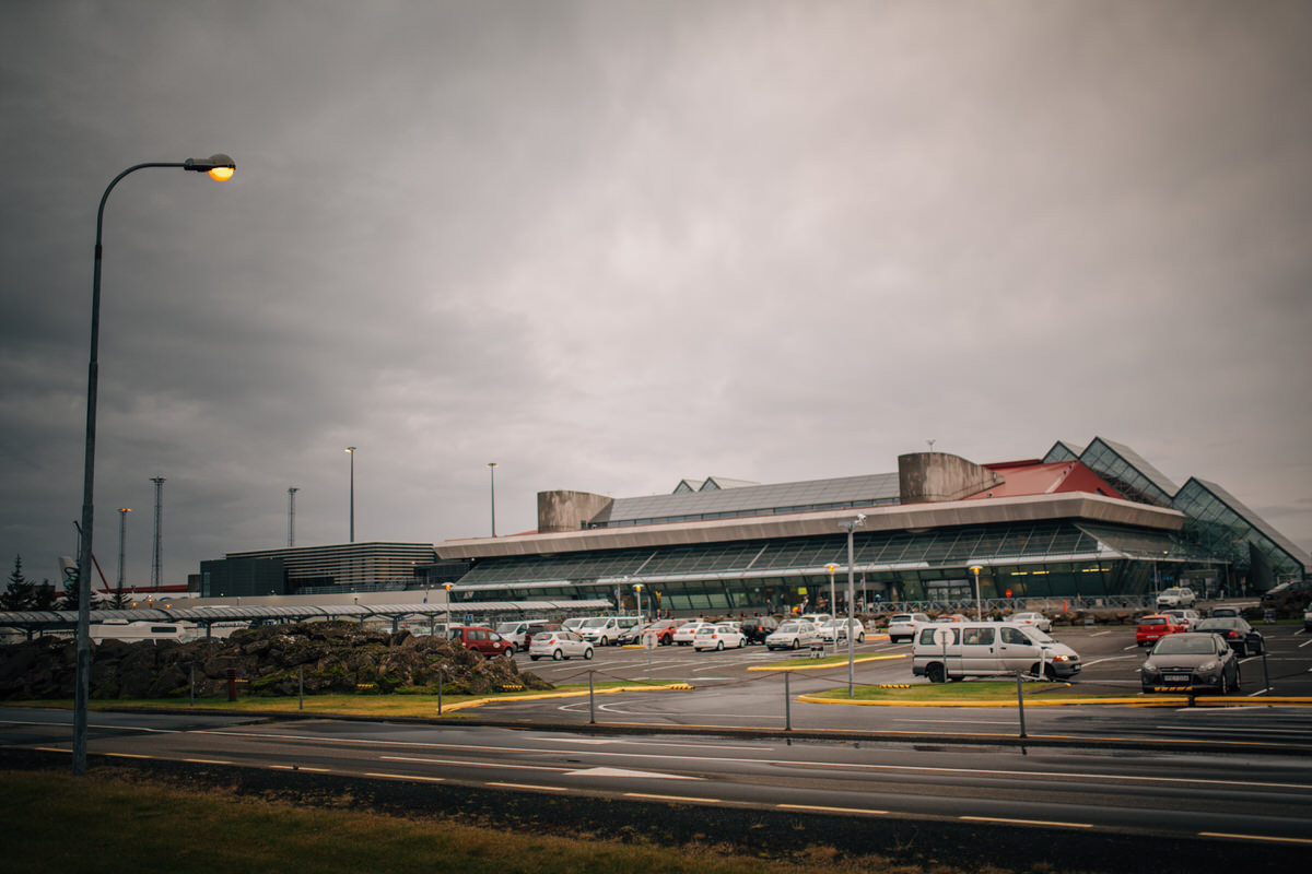 reykjavik airport photograph Iceland