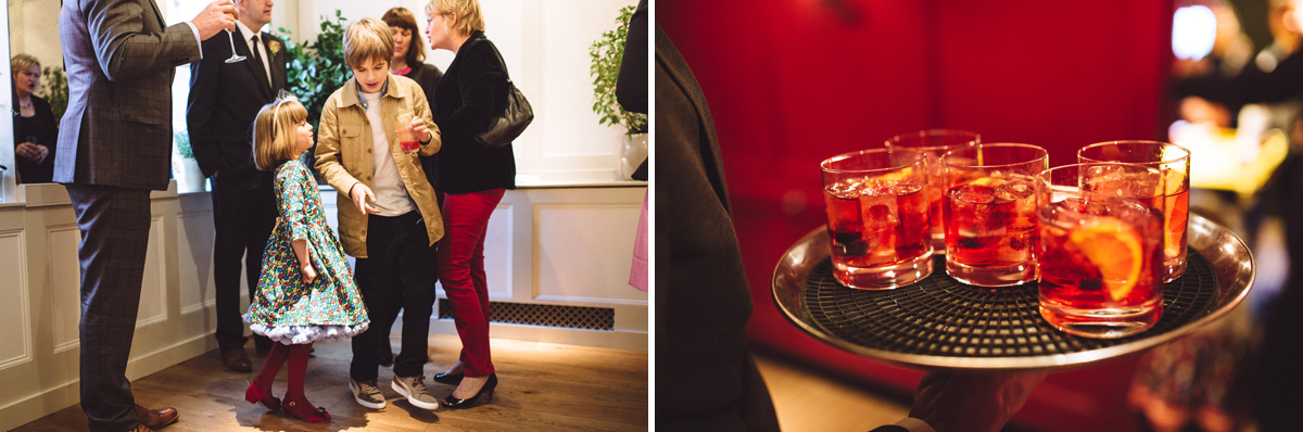 quo vadis wedding drinks photographs soho london
