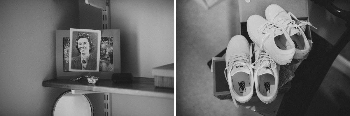 contemporary black and white wedding photographer hertfordshire