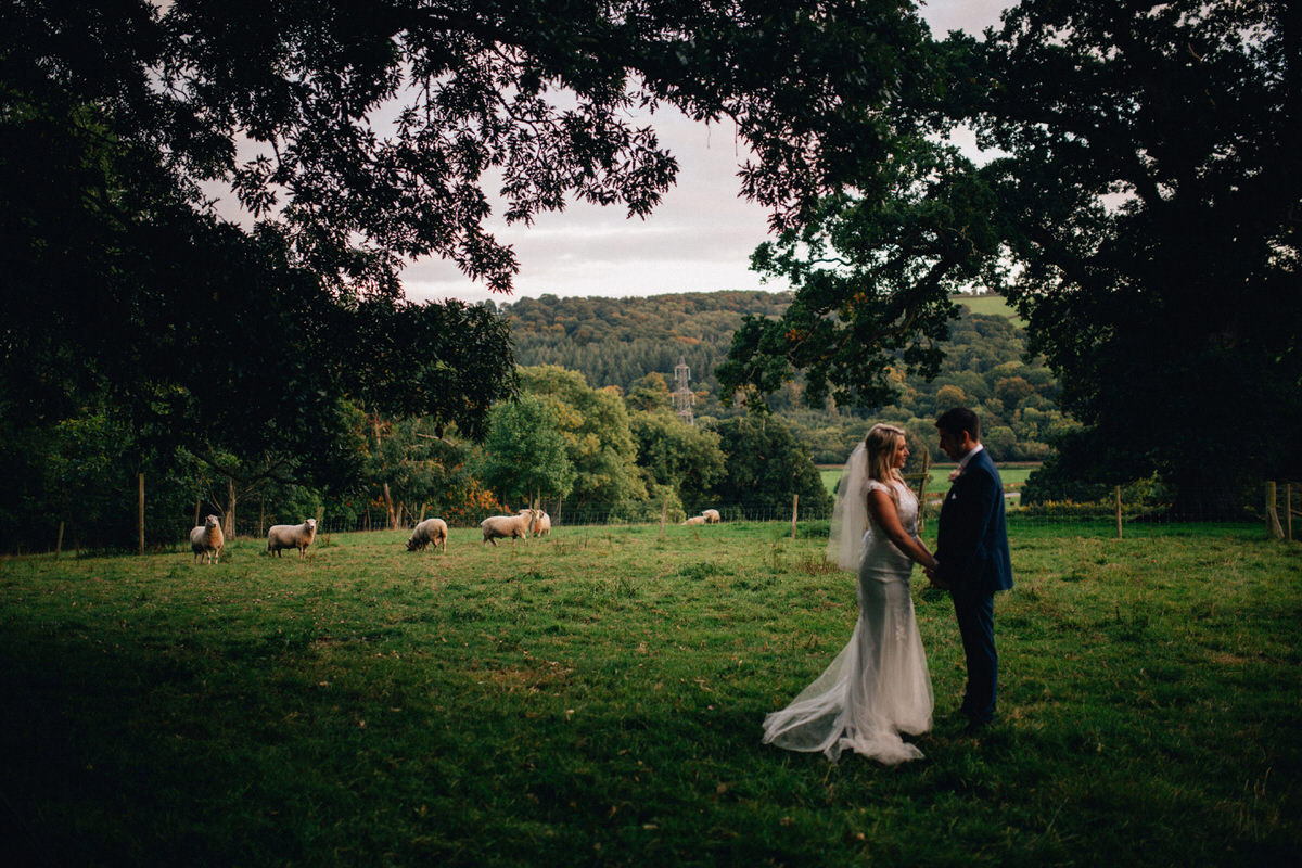 elegant devon farm wedding