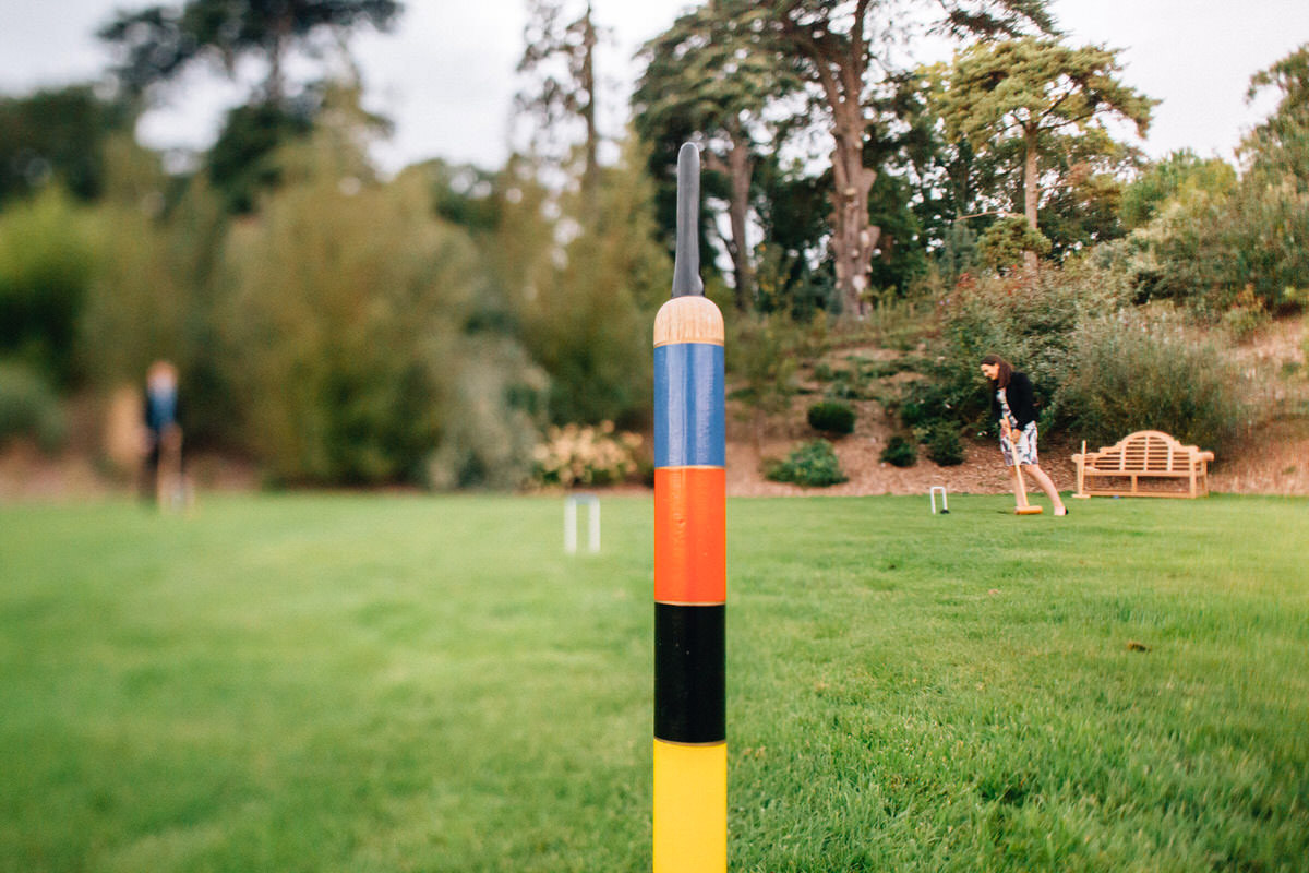 wedding croquet games