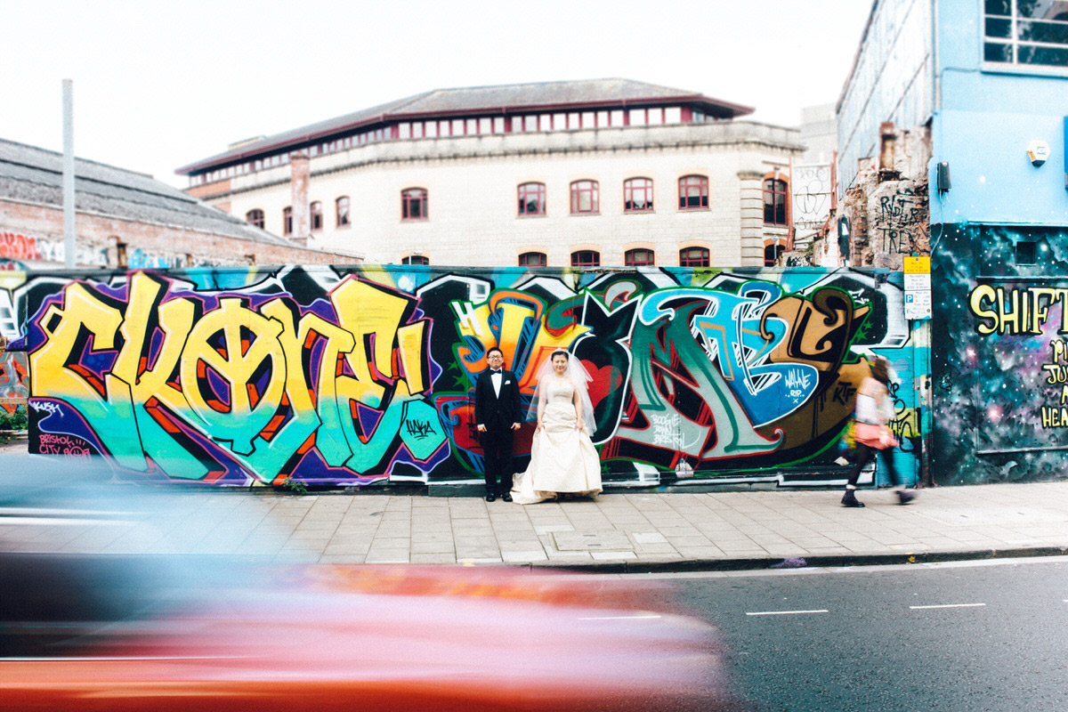 urban wedding photography bristol