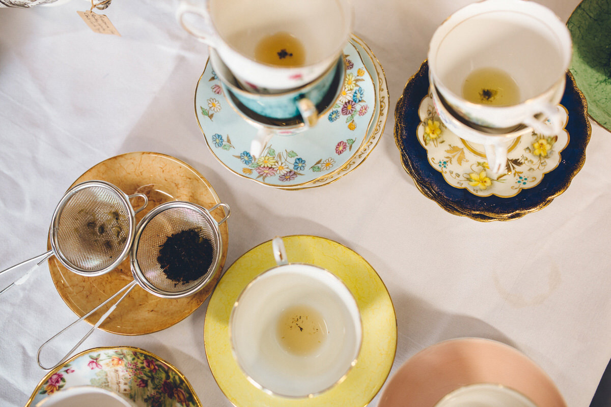 wedding tea cups