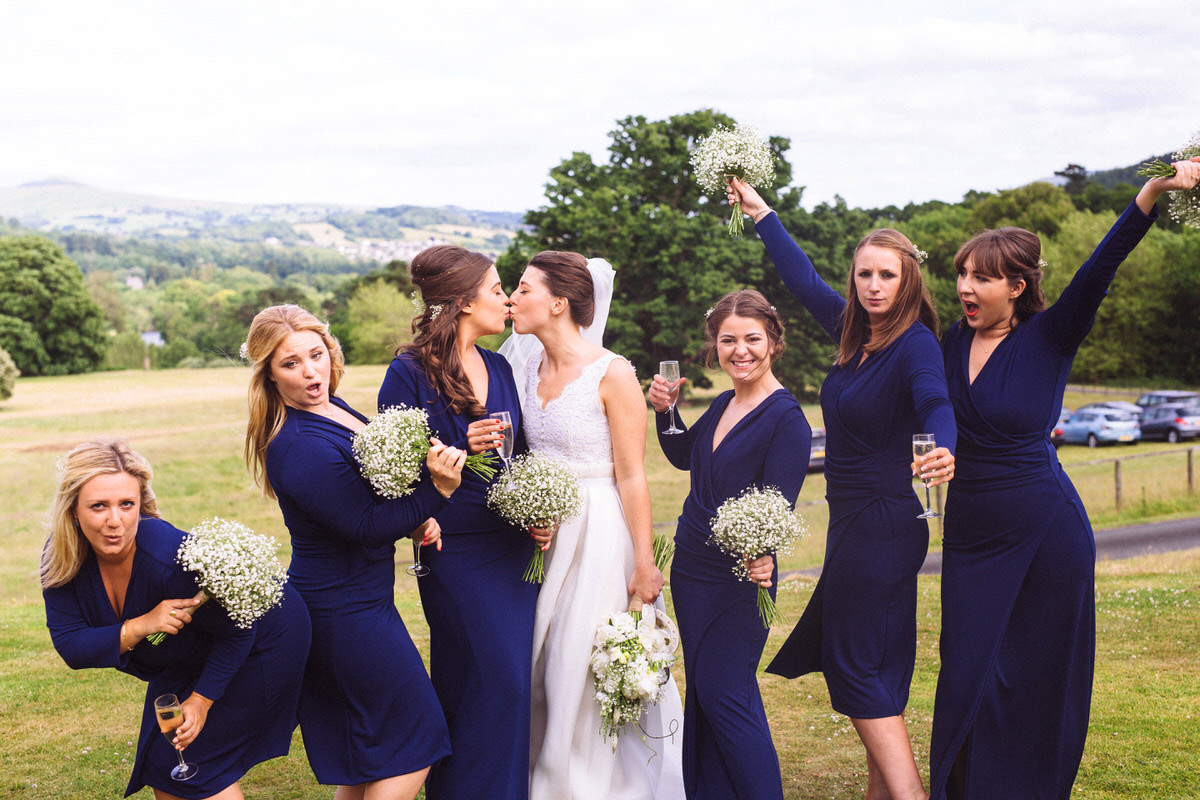 best royal blue bridesmaids dresses
