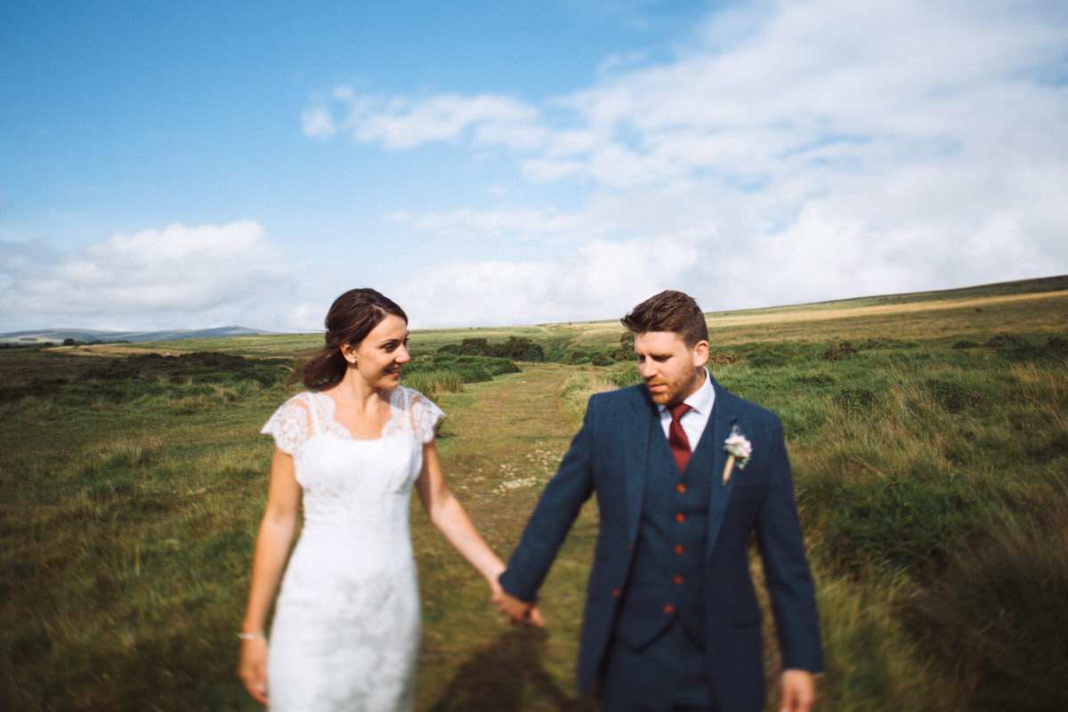 best dartmoor wedding photography