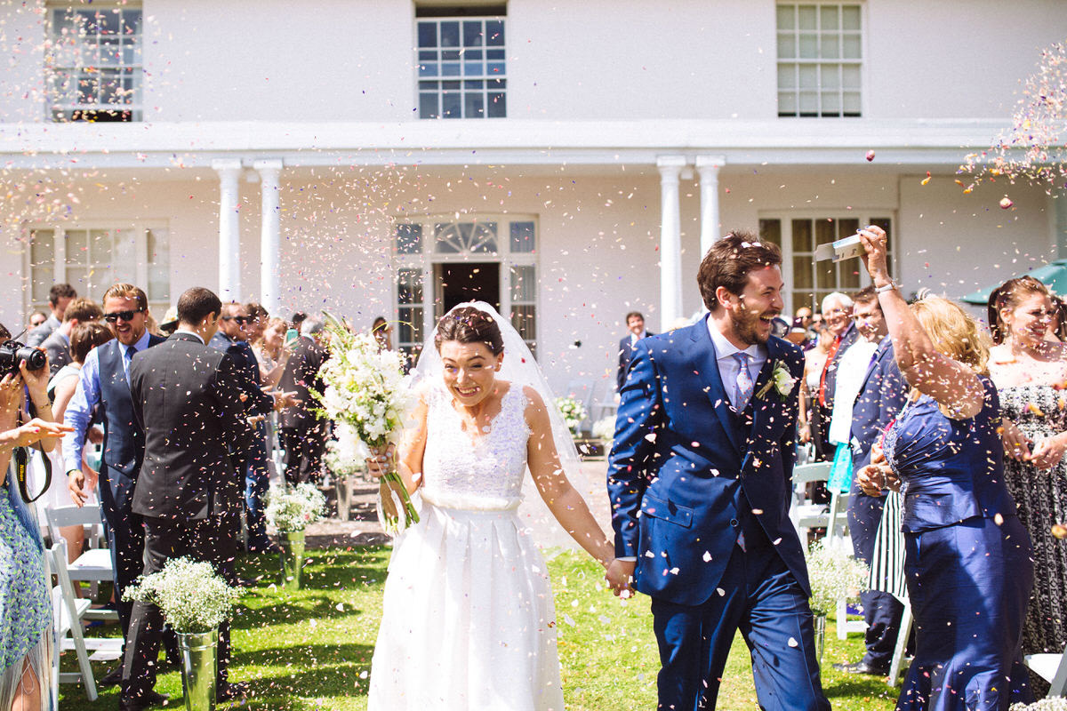 summers day confetti photograph