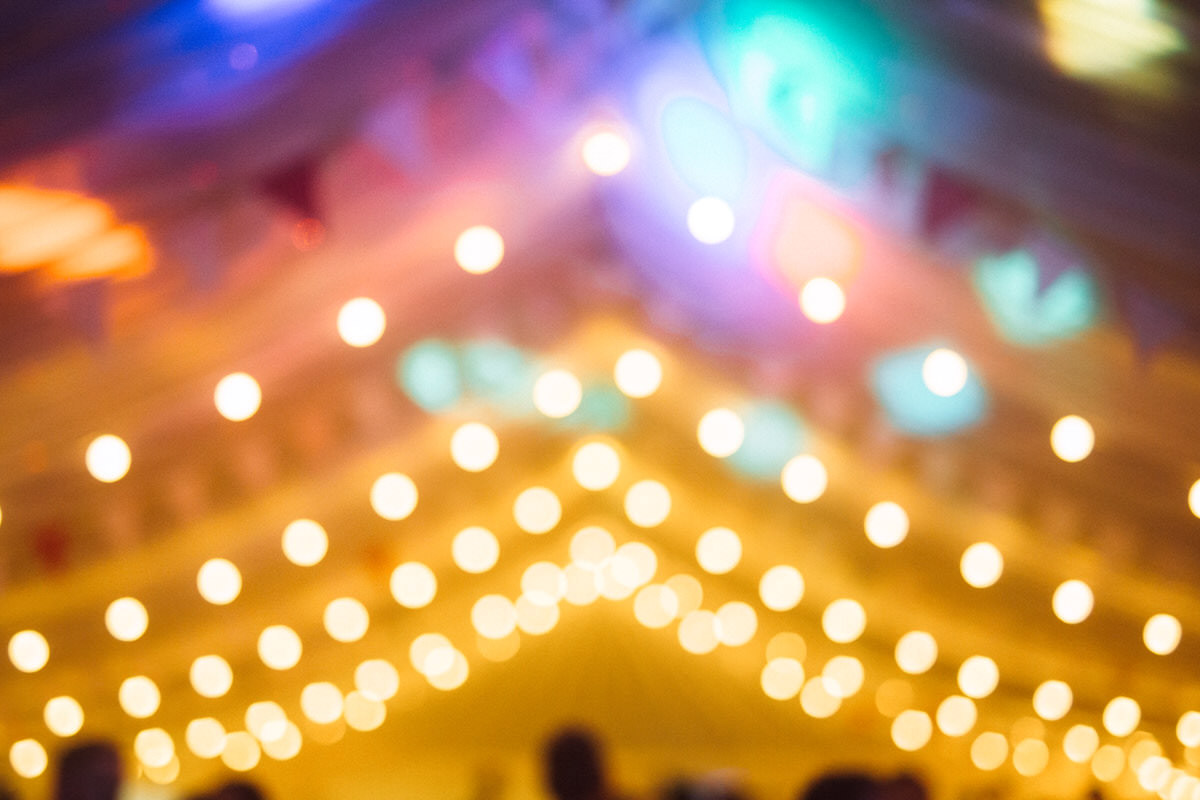 best festoon lighting weddings