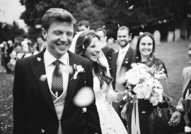 Charlie and Harrys Home Wedding in Berkshire