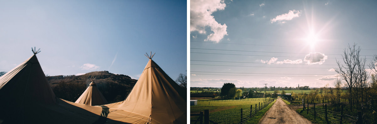 top rural wedding photographers in uk